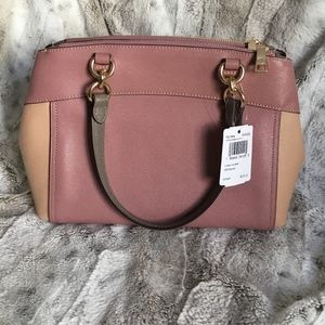 COACH Mini Brooke Carry all (Dusty Rose)